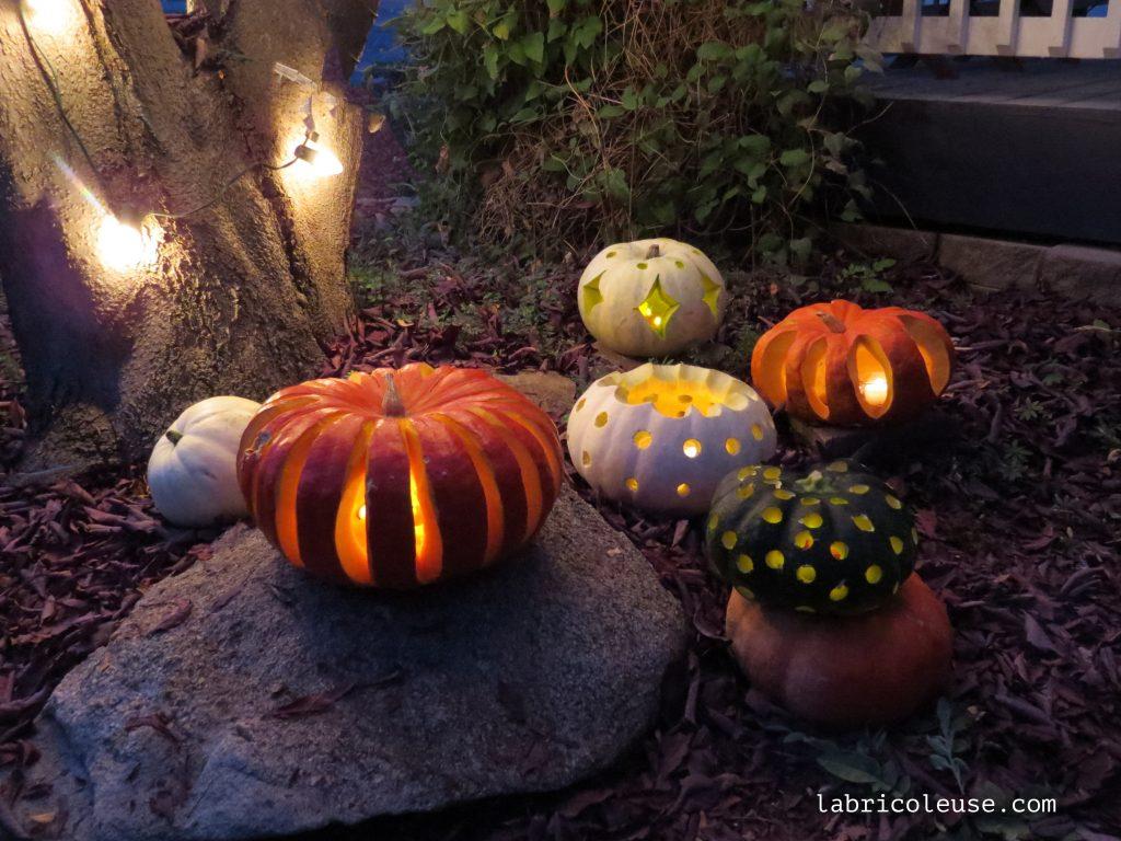 Citrouilles d'Halloween: idées et astuces