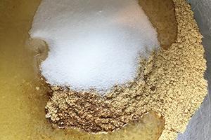 Ingrédient de la base du cheesecake