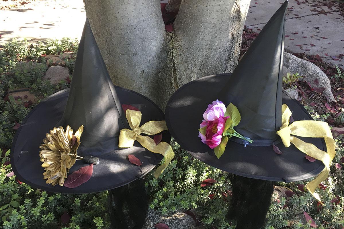Costumes de sorcière: confection des chapeaux