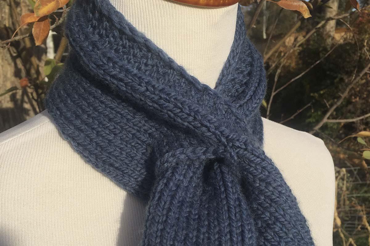 Cache-cou: petit projet pour une pelote de laine