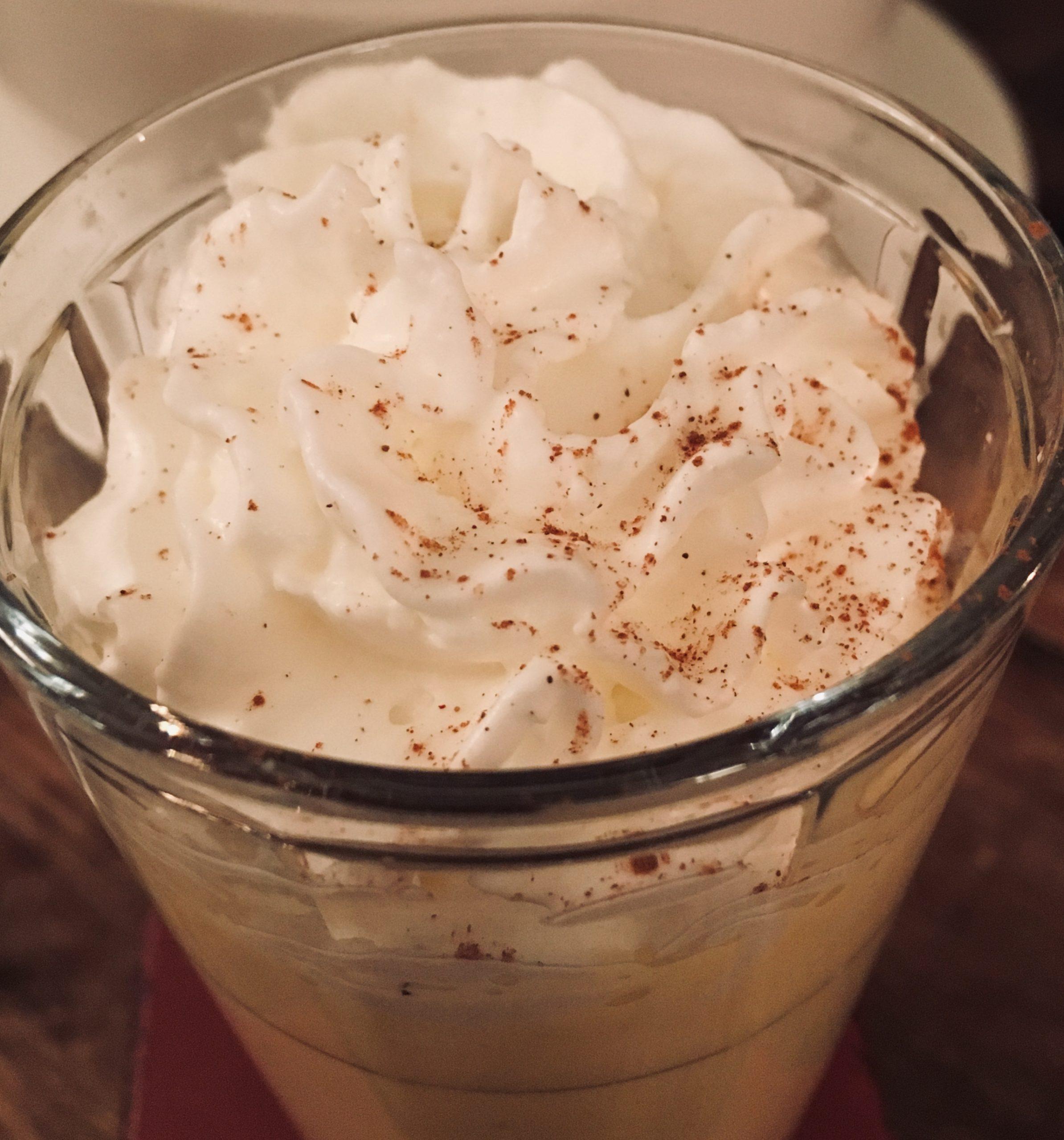 Le lait de poule, une boisson riche et festive